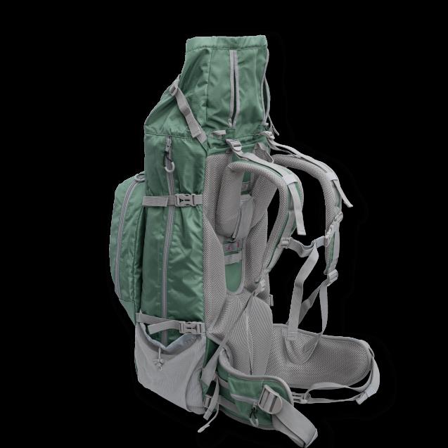 Рюкзак для перевозки собак Rover 2 | Big Dog Carrier & Backpacking Pack - зеленый
