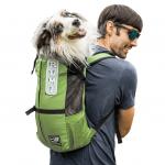 Рюкзак переноска для собак K9 Sport Sack® Trainer- зеленый