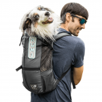 Рюкзак переноска для собак K9 Sport Sack® Trainer- серый