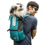 Рюкзак переноска для собак K9 Sport Sack® Trainer- бирюзовый