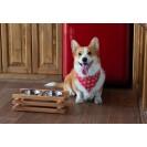 Подставка с мисками для собак  ASIA FUSION - натуральный