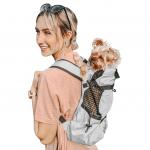 Рюкзак переноска для собак K9 SPORT SACK® AIR 2 - серый