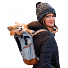 Рюкзак для перевозки собак K9 Sport Sack® Urban 2- серый