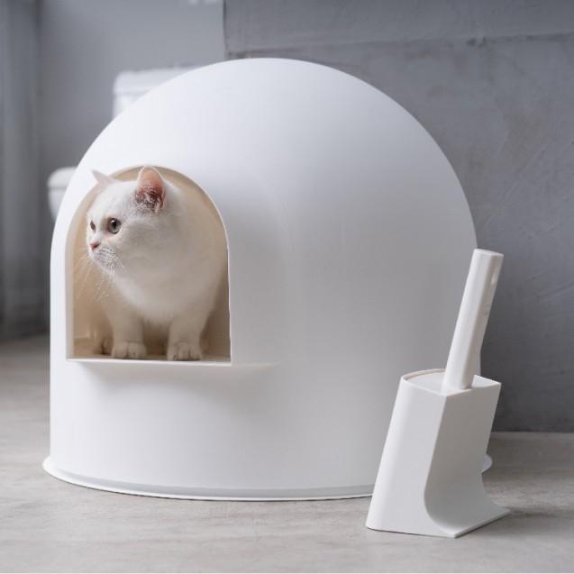 Туалет для кошек IGLOO - желтый