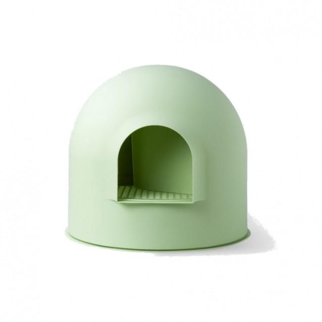 Туалет для кошек IGLOO - зеленый