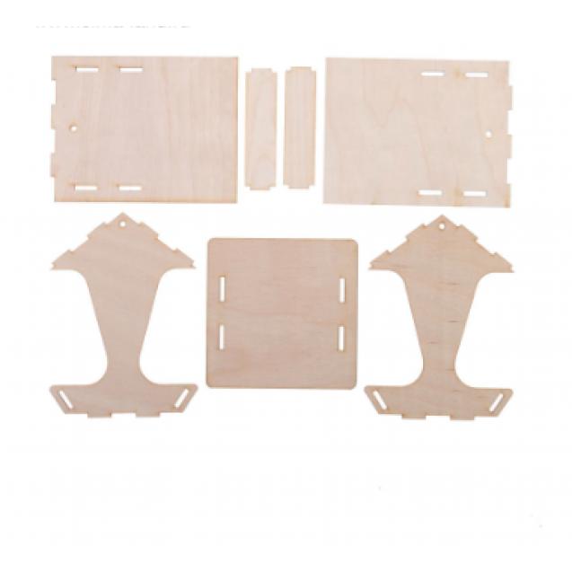 Kopмушка для птиц, 10,5 × 10,5 × 15 см