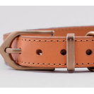 Ошейник для собак Preppy Two-tone Collar in Charcoal Grey - серый
