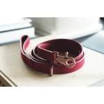 Поводок для собак Classic Leash in Rosewood Red - красный.