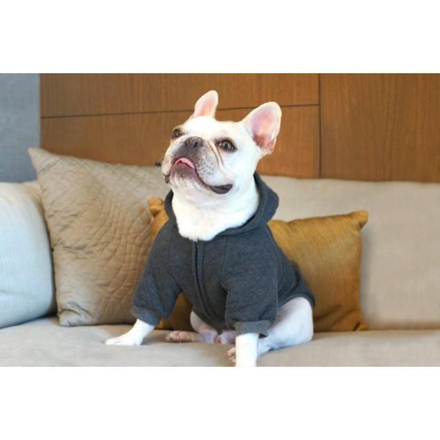 Толстовка для собак Everyday Hoodie - серая
