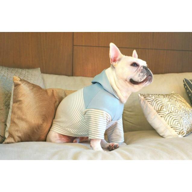 """Толстовка с капюшоном синяя для собак """"It's a Boy!"""" Hoodie"""