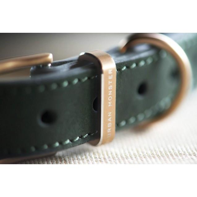 Ошейник для собак Classic Collar in Woodland Green - зеленый
