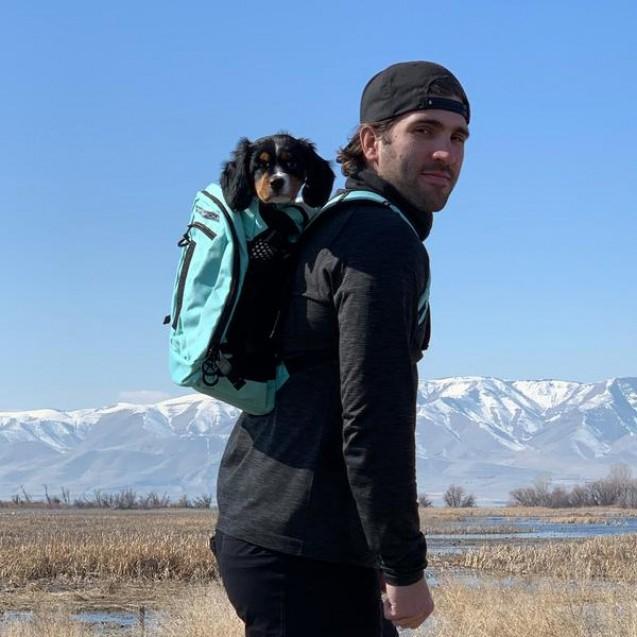 Рюкзак для перевозки собак SPORT SACK® PLUS 2 - черный