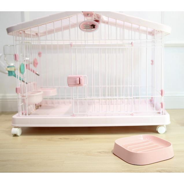 Миска для кошек, для собак Слоу SMART ANIMAL - розовый