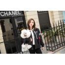 Непромокаемая куртка для собак, для кошек Nicovaer Волонтер - черная