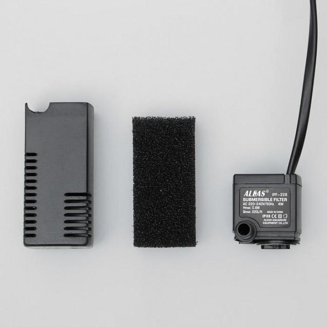 Внутренний фильтр Aleas 220 л/ч, 4w, IPF-228