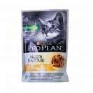Влажный корм PRO PLAN для стерилизованных кошек, курица в соусе, пауч, 85 г