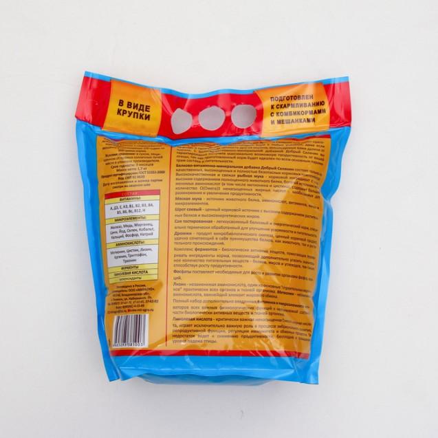 "БВМ добавка ""Добрый селянин"" Премиум 4 в 1, с ферментами для с/х птицы, 1.7 кг"