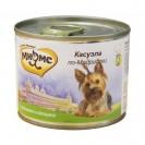 """Влажный корм Мнямс """"Касуэла по-Мадридски"""" для собак, кролик с овощами, ж/б, 200 г"""