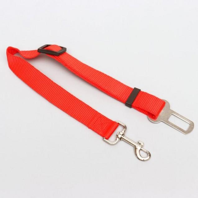 Автомобильный ремень безопасности для собак особо прочный, 68 х 2,5 см, микс цветов