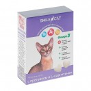 Витамины Smile Cat для кошек, с протеином и L-карнитином, 100 таб