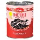 """Влажный корм """"Мясное рагу"""" для собак, говядина с гречкой, ж/б, 350 г"""