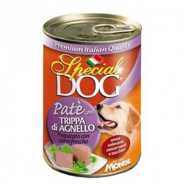 Влажный корм Special Dog для собак, паштет рубец ягненка, ж/б, 400 г