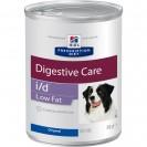 Влажный корм Hill's PD i/d Low Fat для собак, при расстройствах ЖКТ, низкокалорийный, 360 г