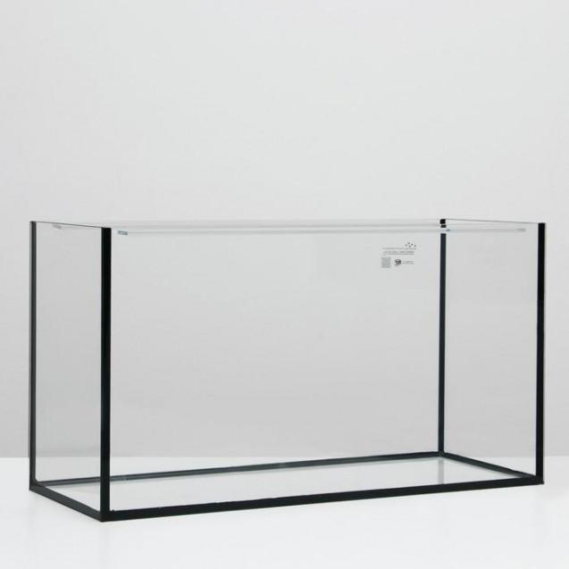Аквариум прямоугольный без крышки, 220 литров, 100 х 40 х 55 см