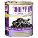 """Влажный корм """"Зоогурман"""" Мясное ассорти для собак, говядина/рубец/потрошки, ж/б, 750 г"""