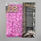 Галька декоративная, флуоресцентная, пурпурная, 800 г , фр 8-12 мм