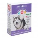 Витамины Smile Dog для собак, с протеином и L-карнитином, 100 таб
