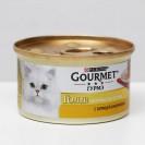 """Влажный корм GOURMET GOLD """"Нежные биточки"""" для кошек, курица/морковь, ж/б, 85 г"""