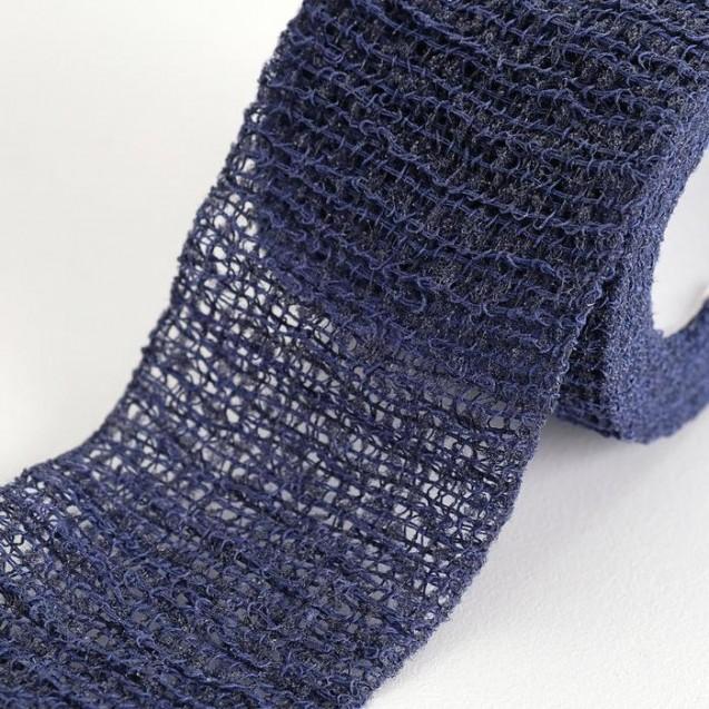 Бинт когезивный Вариант 4 м х 4 см эластичный, синий