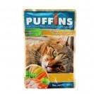 Влажный корм Puffins для кошек, сочные кусочки курицы в желе, 100 г