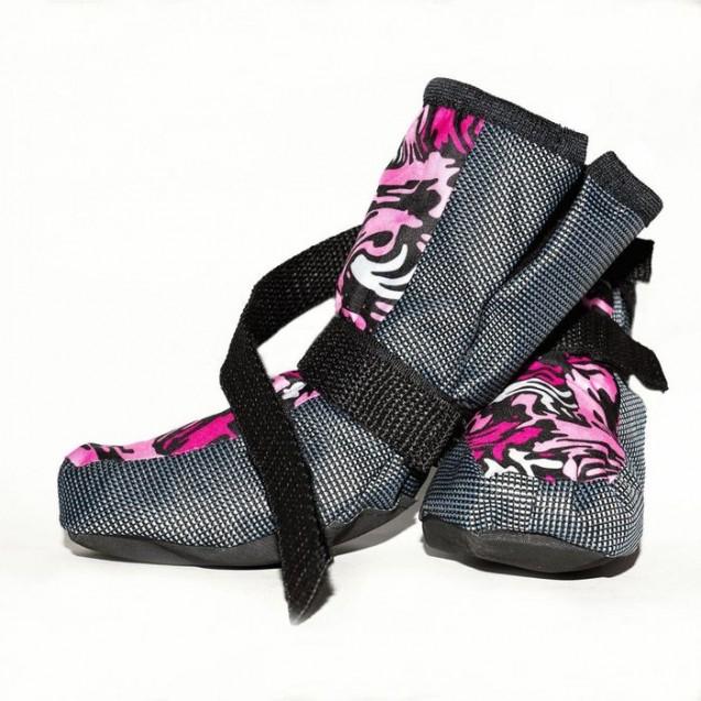 Ботинки утепленные OSSO, внутренний размер по лапе 1 (5 х 6 х 10 см), микс