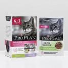 Акция 4+1! Влажный корм PRO PLAN Delicate  для кошек, индейка/ягненок, пауч, 5 х 85 г