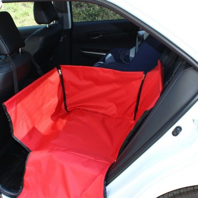 "Автогамак Tplus ""Компакт"", оксфорд, красный, T002248"