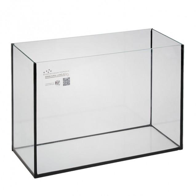 Аквариум прямоугольный Атолл без крышки, 75 литров, 75,5 х 22 х 45 см