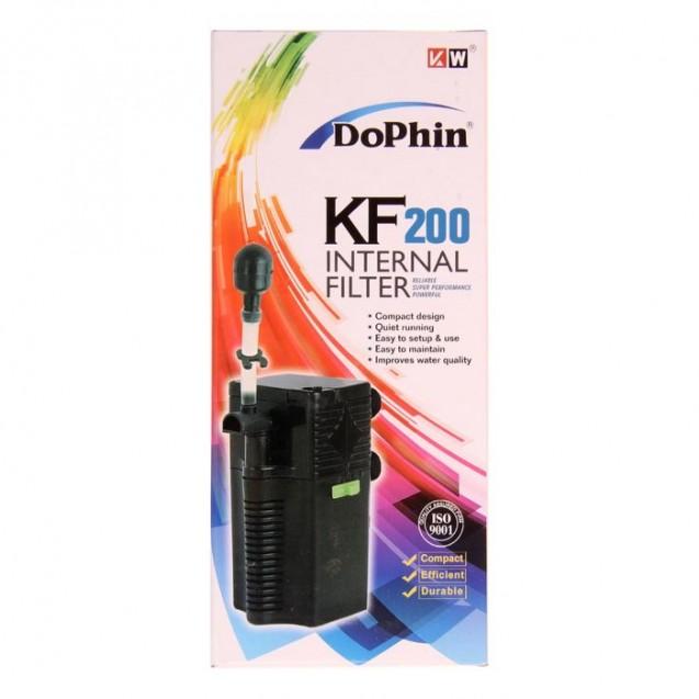 Внутренний фильтр Dophin KF-200 (KW) с регулятором, 3,2 Вт, 240 л/ч