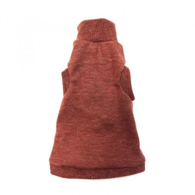 Водолазка Osso «ТерраКот» для кошек утепленная, размер XL (ДС 38, ОШ 22-36, ОГ 38-44)