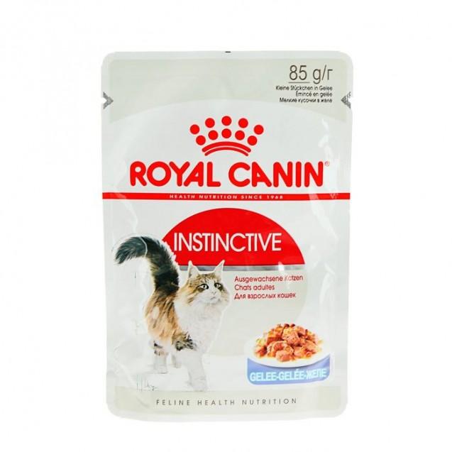 Влажный корм RC Instinctive для кошек, в желе, пауч, 85 г