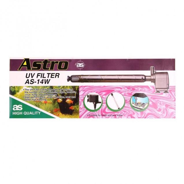 Внутренний стерилизатор с помпой для воды Astro AS-14w (KW), 1120 л/ч