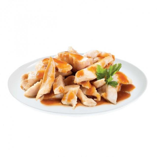 Влажный корм Brit Premium для котят, кусочки куринного филе в соусе, 85 г