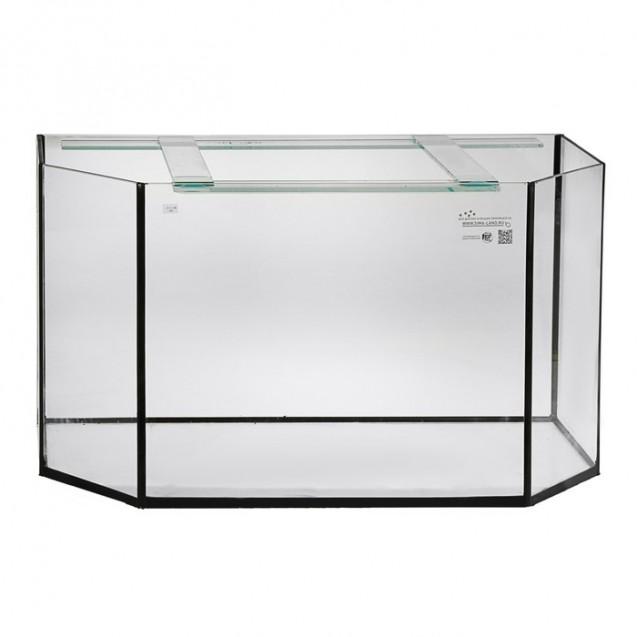 Аквариум панорамный без крышки, 205 литров, 100 х 40 х 55 см