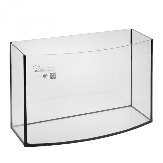 Аквариум телевизор без крышки, 85 литров, 80 х 27 х 39,5 см