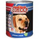 Влажный корм BIG DOG для собак, ягненок с рисом, ж/б, 850 г