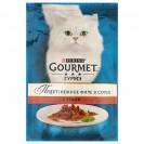Влажный корм GOURMET PERLE для кошек, утка, пауч, 85 г