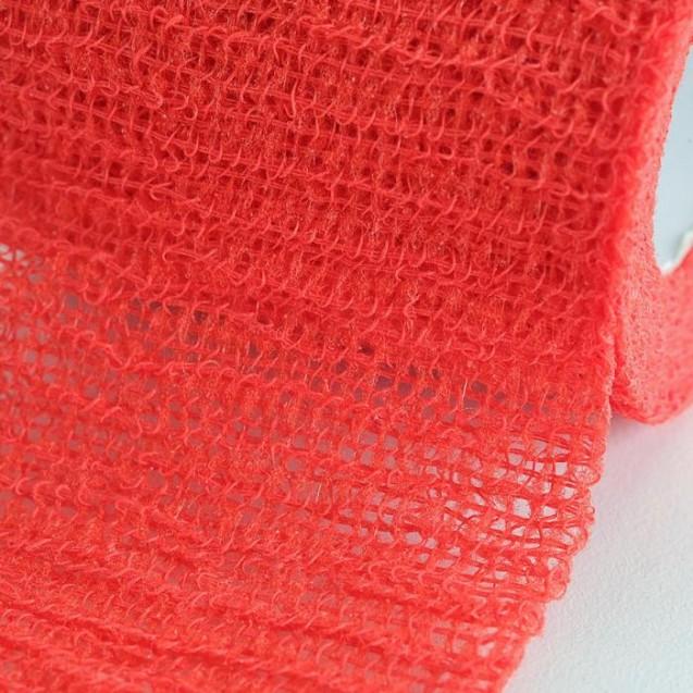 Бинт когезивный Вариант 4 м х 6 см эластичный, красный