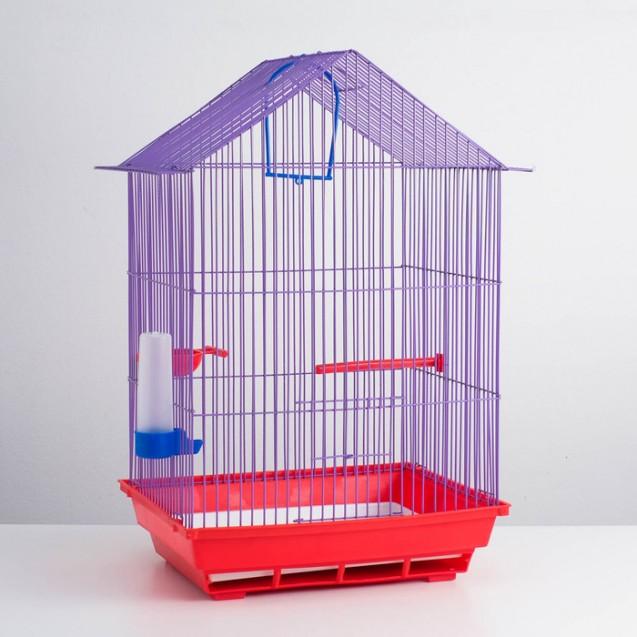 Акция для крупных птиц! Клетка, корм, кормушка, кальций